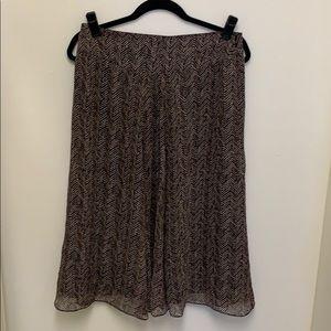 Jones New York Lined Midi Skirt 8P
